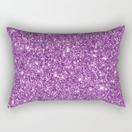 Sparkling glitter print D Rectangular Pillow