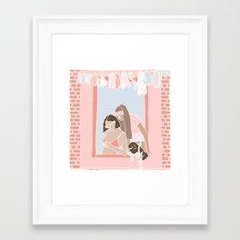 Good Chisme Framed Art Print