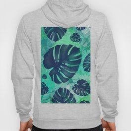 monstera leaves tropical 2 Hoody
