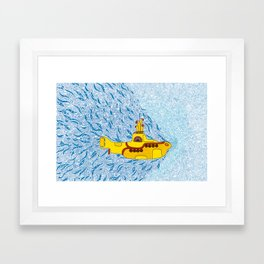 My Yellow Submarine Framed Art Print