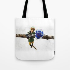 legend of zelda link snow figma Tote Bag