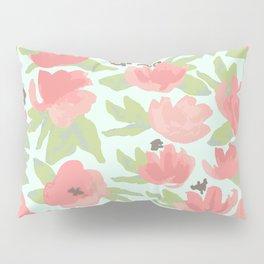 Watercolor Blooms Pillow Sham