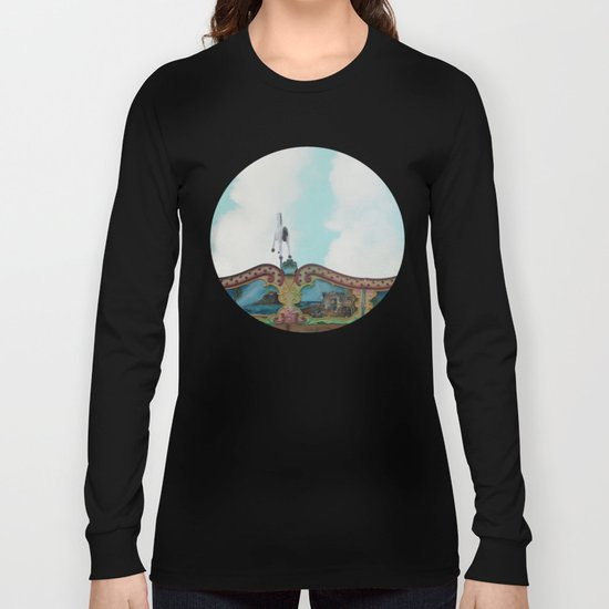 The Flying Horse Long Sleeve T-shirt