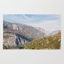Yosemite Valley Rug