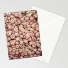 Flower Market 1 - Pink Roses  Stationery Cards