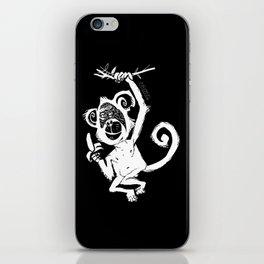 happy monkey iPhone Skin