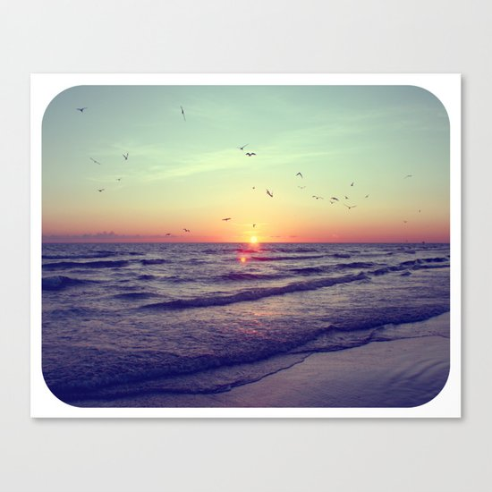 Siesta Key Sunset Canvas Print