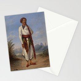 Hindu Man by Antonion Zeno Shindler Stationery Cards
