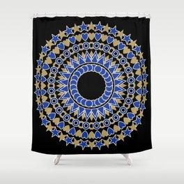 Holiday  Mandala Shower Curtain