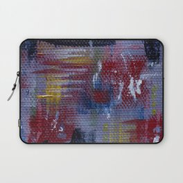 Abstract Purple Painting Laptop Sleeve