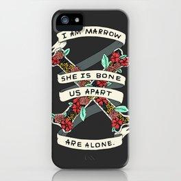 MARROW & BONE iPhone Case