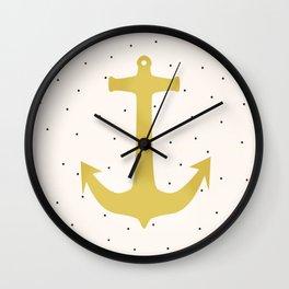 Anchor Poua Wall Clock