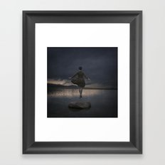 SUCH SERENITY Framed Art Print