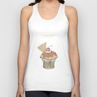 cupcakes Tank Tops featuring Cupcakes by Cecilia Sánchez