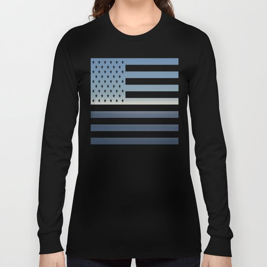 Two colours Long Sleeve T-shirt