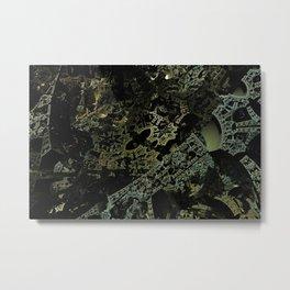 3D fractal Metal Print