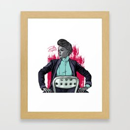 Janelle Framed Art Print