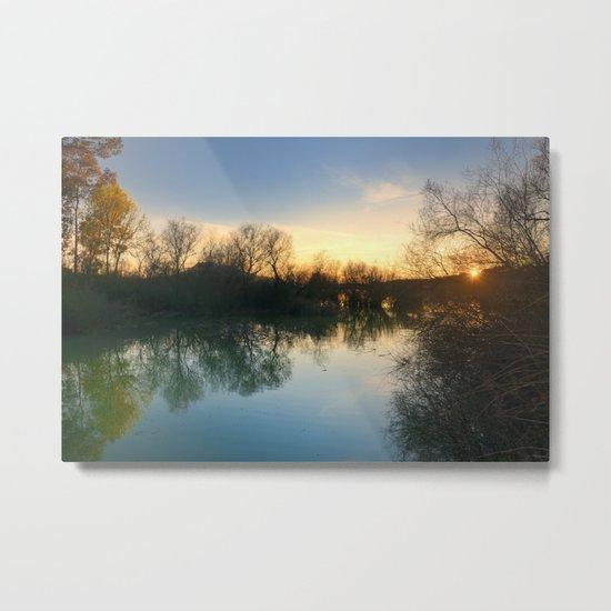 Spring sunrays Metal Print