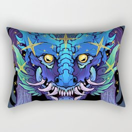 Stellar Dragon Rectangular Pillow
