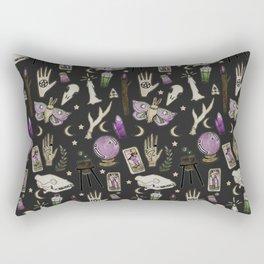 WITCH pattern • in black salt Rectangular Pillow