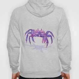 Purple Peacock Crab on the Run Hoody