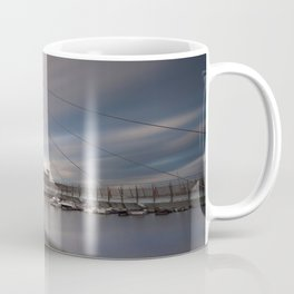 Swansea marina and millennium bridge Coffee Mug