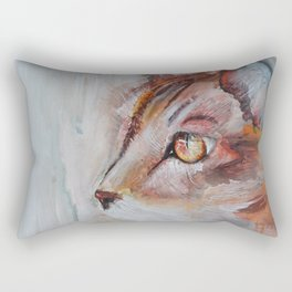 Le chat (the cat) Rectangular Pillow