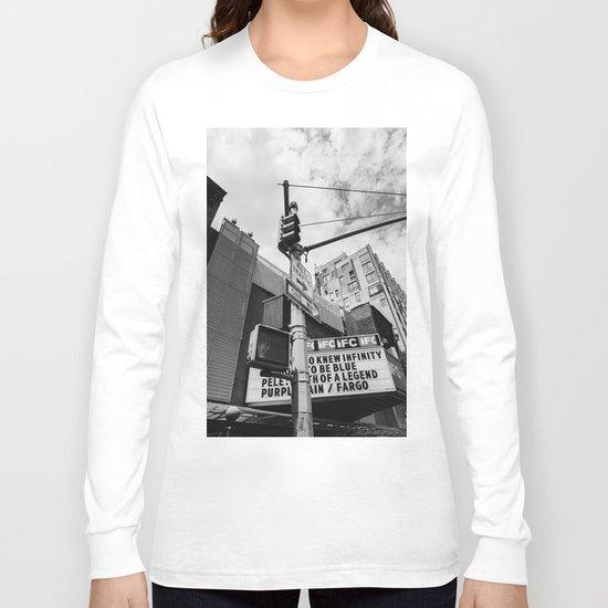 New York IFC Theatre Long Sleeve T-shirt