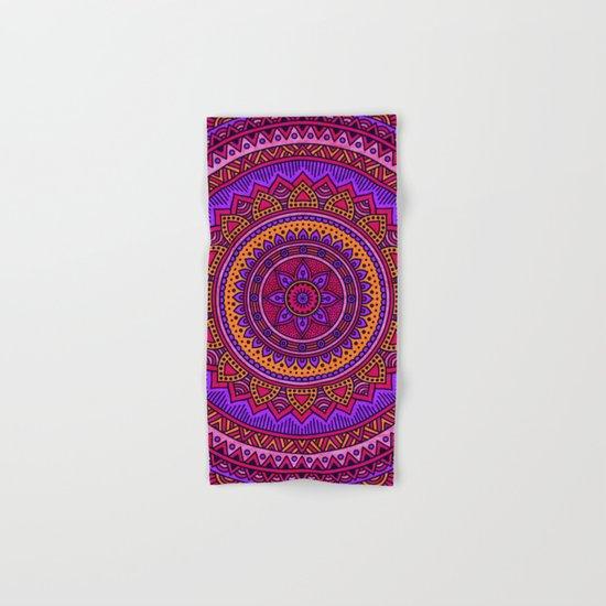 Hippie mandala 43 Hand & Bath Towel