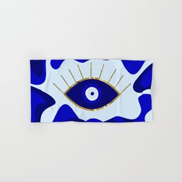 Lava All Seeing Evil Eye Hand & Bath Towel