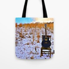 Winter's Song Tote Bag
