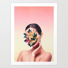 PLANT FACE Art Print