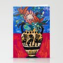 Lions and Tigers Vase with Protea Bouquet by larameintjes
