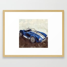 Shelby Cobra Framed Art Print