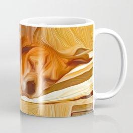 Lucy Sleeping East Coffee Mug
