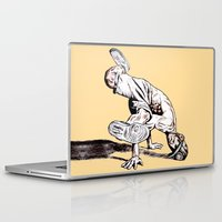 hiphop Laptop & iPad Skins featuring B BOY by ARTito