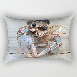 Haunting Crawfish Rectangular Pillow