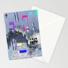 Geometric Wavez Stationery Cards