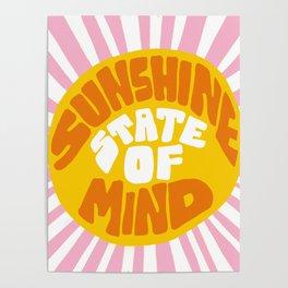 Sunshine Vibes Poster