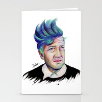 lynch Stationery Cards featuring David Lynch by Coco Dávez