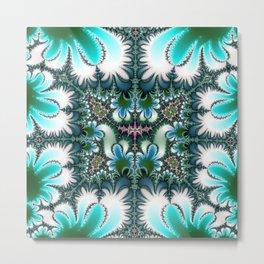 Fractal Rectangle Metal Print