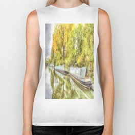 Little Venice London Autumn Art Biker Tank