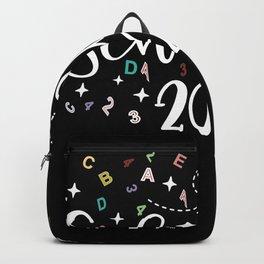 School Kid 2020 Alphabet Enrollment Gift Backpack