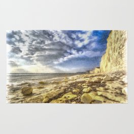 Birling Gap And Seven Sisters Art Rug