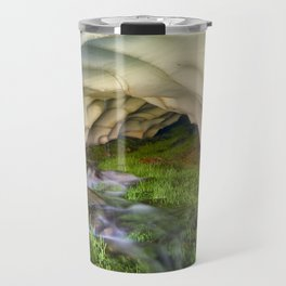 Ice Cave. At the mountain Travel Mug