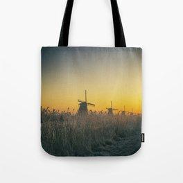 Sunrise at Kinderdijk III Tote Bag