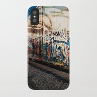 grafitti iPhone & iPod Cases featuring Grafitti Train by Squint Photography