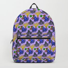 Kyle's babies print (Lilac) Backpack