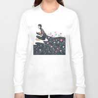 tyler spangler Long Sleeve T-shirts featuring Flowering Tyler by poweredbycokezero