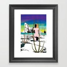 Totally different Framed Art Print